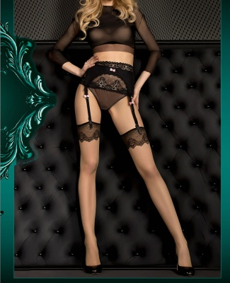 Ballerina Lace Top Pattern Stockings