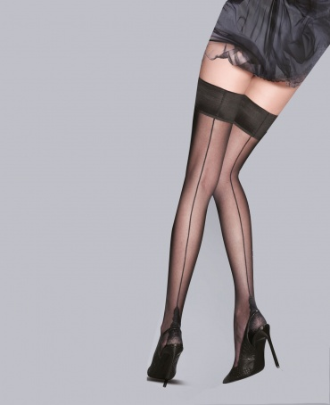 Pretty Polly Flirty Backseam Hold Ups