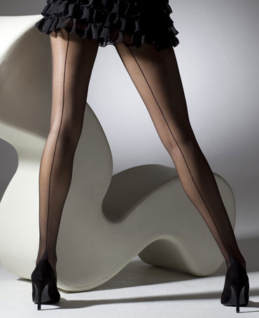 Gipsy French Heel Seamed Tights