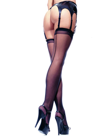 Leg Avenue Sheer Backseam Stockings