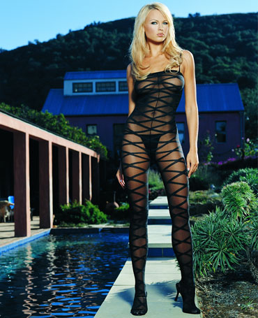 Leg Avenue Criss Cross Bodystocking