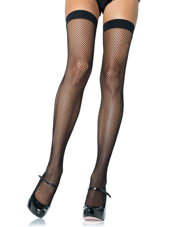 Leg Avenue Coloured Fishnet Stockings