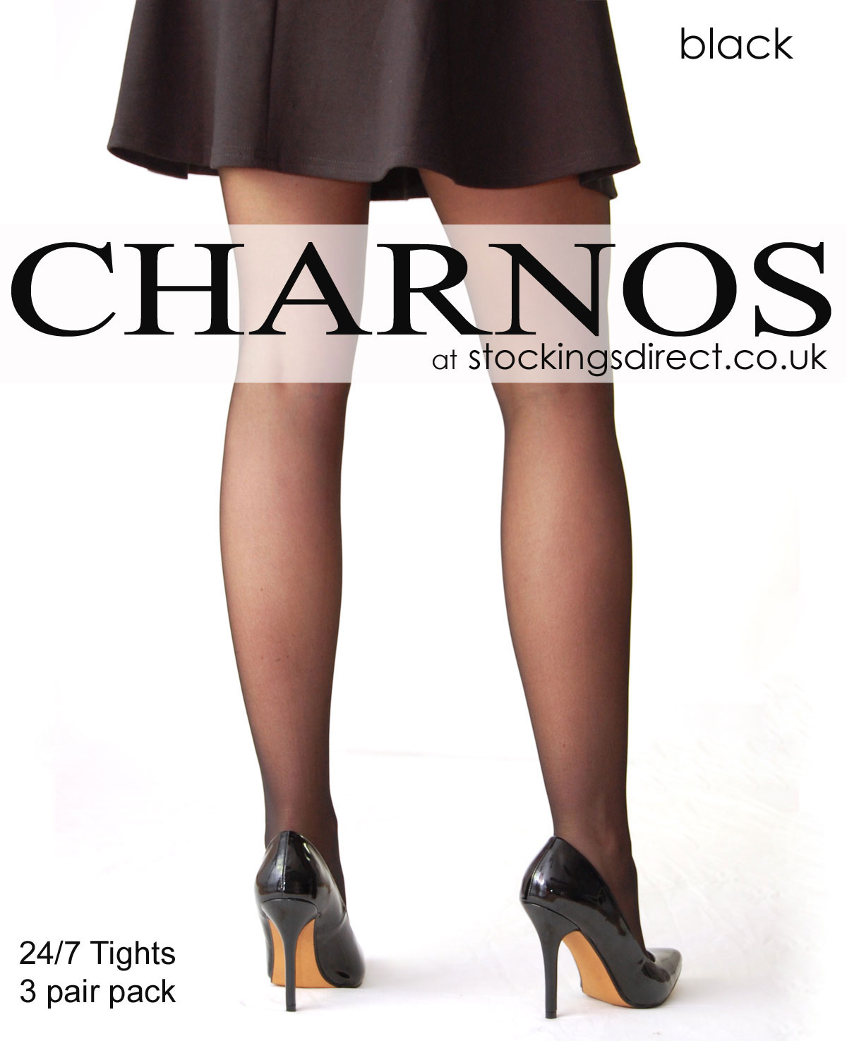 18606d4a7c5 Charnos 24 7 Tights (3 Pair Pack) at Stockings Direct