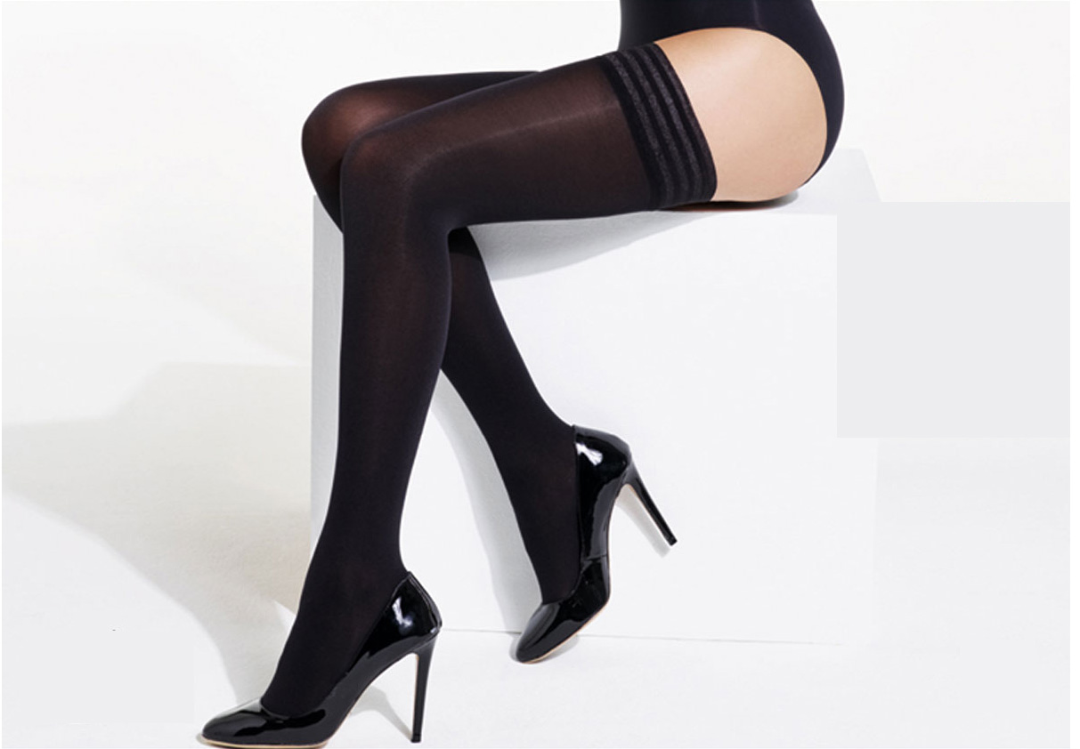 04343bc1f8c Charnos 60 Denier Opaque Hold Ups at Stockings Direct