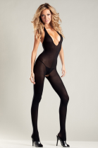 BeWicked Halterneck Low Neckline Bodystocking