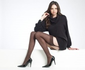 Levante Plain Wool Stockings