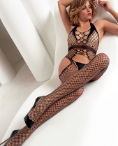 Trasparenze Carter Fishnet Bodystocking