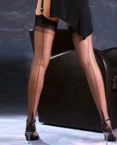 Gio Point Heel Fully Fashioned Stockings