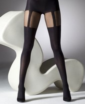 Gipsy Mock Suspender Tights