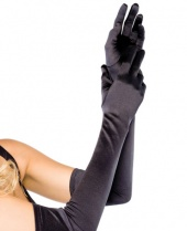 Leg Avenue Long Opera Satin Gloves