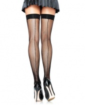 Leg Avenue Seamed Fishnet Stockings