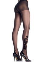 Leg Avenue Dragon Tattoo Sheer Tights