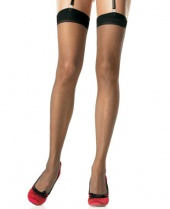 Leg Avenue Sheer Plain Top Stockings