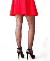 Pamela Mann Sheer Hearts Tights