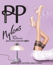 Pretty Polly Gloss Mock Suspender Tights