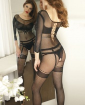 Trasparenze Terry Bodystocking