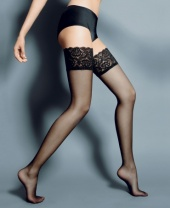 Veneziana Beautiful Lace Top Hold Ups