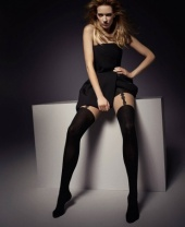 Veneziana Lola Mock Suspender Tights