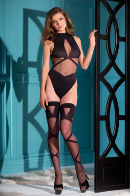 BeWicked Criss Cross Body With Hold Ups
