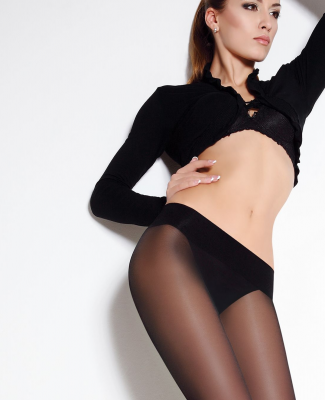 Giulia Sensi Low Waist 40 Denier Tights