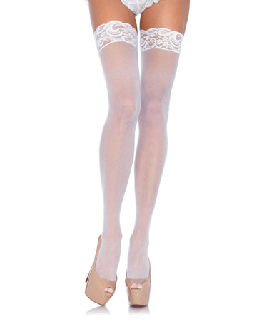 Leg Avenue Lace Top Sheer Stockings