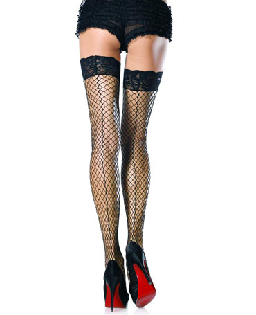 Leg Avenue Seamed Industrial Net Hold Ups