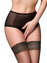 Nylon Dreams Sheer Mesh Crotchless Knickers