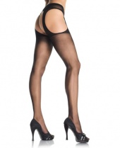 Leg Avenue Sheer Suspender Tights