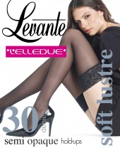 Levante L'Elledue Soft Lustre Semi Opaque Hold Ups